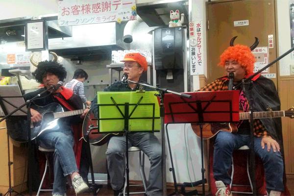 ラーメン太七22周年記念ライブ